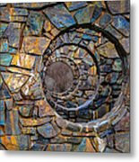 Looking Into The Future Metal Print