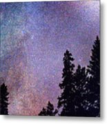 Looking Into The Heavens Metal Print