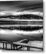 Looking North From 41 South V3 Metal Print