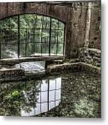 Looking Out 2 - Paradise Springs Spring House Interior  Metal Print