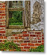 Looking Out At Darien Metal Print