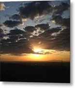 Looking Out My Back Door 1 Metal Print by Don F  Bradford