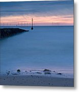 Looking Out Towards The Future Metal Print