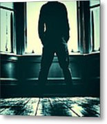 Looking Out Window Metal Print by Craig B