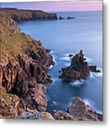 Looking Towards Lands End From The Metal Print