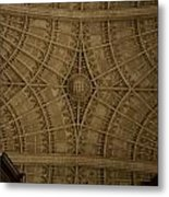 Looking Up King's College Metal Print
