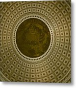 Looking Up Capitol Dome Metal Print