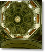 Looking Up Salzburg Cathedral 2 Metal Print