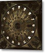 Looking Up Saint Mark's Metal Print