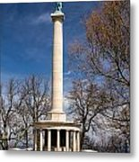 Lookout Mountain Peace Monument 4 Metal Print