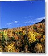 Loon Mountain Foliage Metal Print