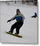 Loon Run 17 Metal Print