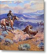 Loops And Swift Horses - Surer Than Lead Metal Print