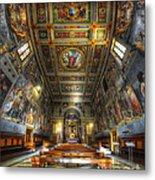 L'oratorio Del Santissimo Crosifisso Metal Print
