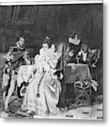 Lord Darnley/mary Stuart Metal Print