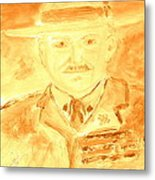 Lord Robert Baden Powell And Scouting 3 Metal Print