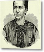 Loreta Janeta Velazquez (1842-1897) Metal Print