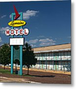 Lorraine Motel Sign Metal Print by Joshua House
