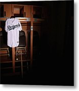 Los Angeles Dodgers Photo Day Metal Print