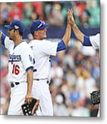Los Angeles Dodgers V Arizona Metal Print