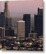Los Angeles Dusk Metal Print