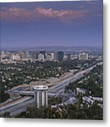 Los Angeles Metal Print by Pro Shutterblade