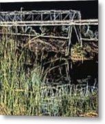 Los Angeles River / Crayola Effect Metal Print