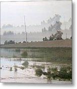 Los Angeles Riverbed  / Multi Parallel Effect Metal Print