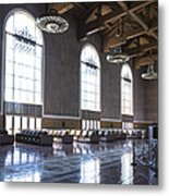 Los Angeles Union Station Original Ticket Lobby Vertical Metal Print