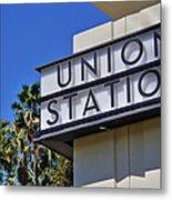 Los Angeles Union Station Metal Print