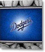 Los Angles Dodgers Metal Print by Joe Hamilton