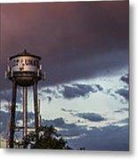 Los Lunas Water Tower Metal Print