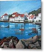 Loshavn Metal Print by Janet King
