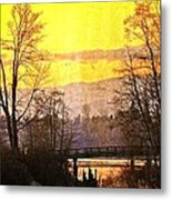 Lost Along The River Metal Print