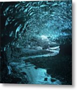 Lost And Frozen World Metal Print