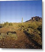 Lost Dutchman Park Supestition Mountains Metal Print