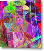 Lost In Abstract Space 20130611 Long Version Metal Print
