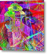 Lost In Abstract Space 20130611 Metal Print