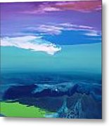 Lost In Clouds I Metal Print