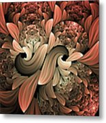 Lost In Dreams Abstract Metal Print
