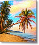 Lost In Paradise Metal Print