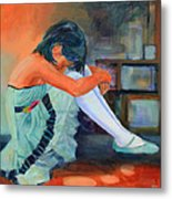 Lost In Thought Metal Print by Sue  Darius