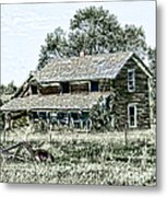 Lost In Wyoming Metal Print