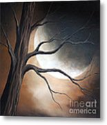 Lost In Your Beauty By Shawna Erback Metal Print