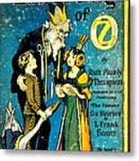 Lost King Of Oz Metal Print