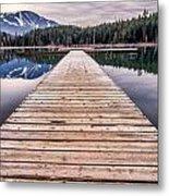 Lost Lake Dock Metal Print