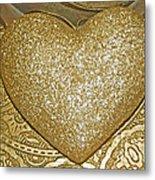 Lost My Golden Heart Metal Print