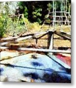 Lost Playground Metal Print