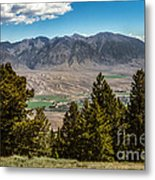 Lost River Mountains Metal Print
