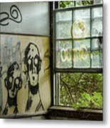 Lost Souls - Abandoned Places Metal Print